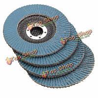 115мм лоскут шлифовальный диск 40 60 80 120 угол грит шлифовальный станок колесо