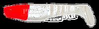 Manns Predator 3 М-066 RN SA красная голова, матово-белый с цветными блест. 90мм 20шт/уп