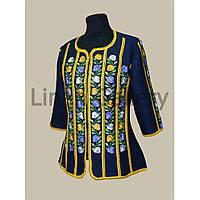 Блуза Барвінок синя