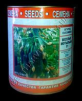 Семена огурца Веселые Мотыльки F1, инкрустированные, 200 г