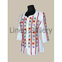 Блуза Барвінок біла
