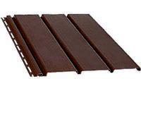 Софіт підшивка даху Коричневий Bryza 1,22 м (4мх0,30см)