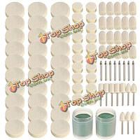 90шт поворотные аксессуары набор инструментов набор войлочных полировальных шлифовальный инструмент шлифовальный