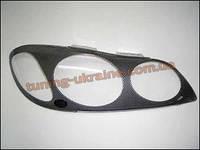 Защита фар Sim для Nissan Maxima 1994-08 карбон 2000