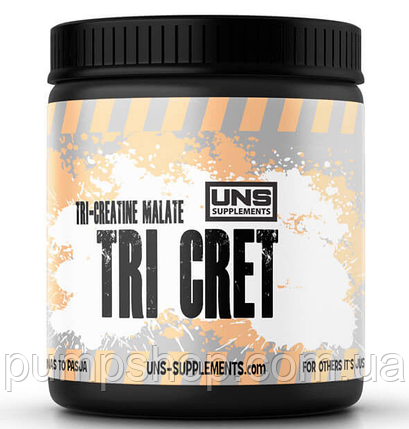 Три-креатин-малат UNS Tri Cret (tri creatine malate +betaine) 300 g, фото 2
