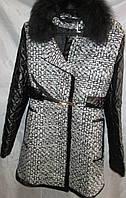 Пальто женское с воротником