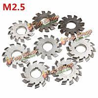 Внутренний диаметр m2.5 22 мм № 1-8 hss 20degree запутанный механизм мукомольный резак