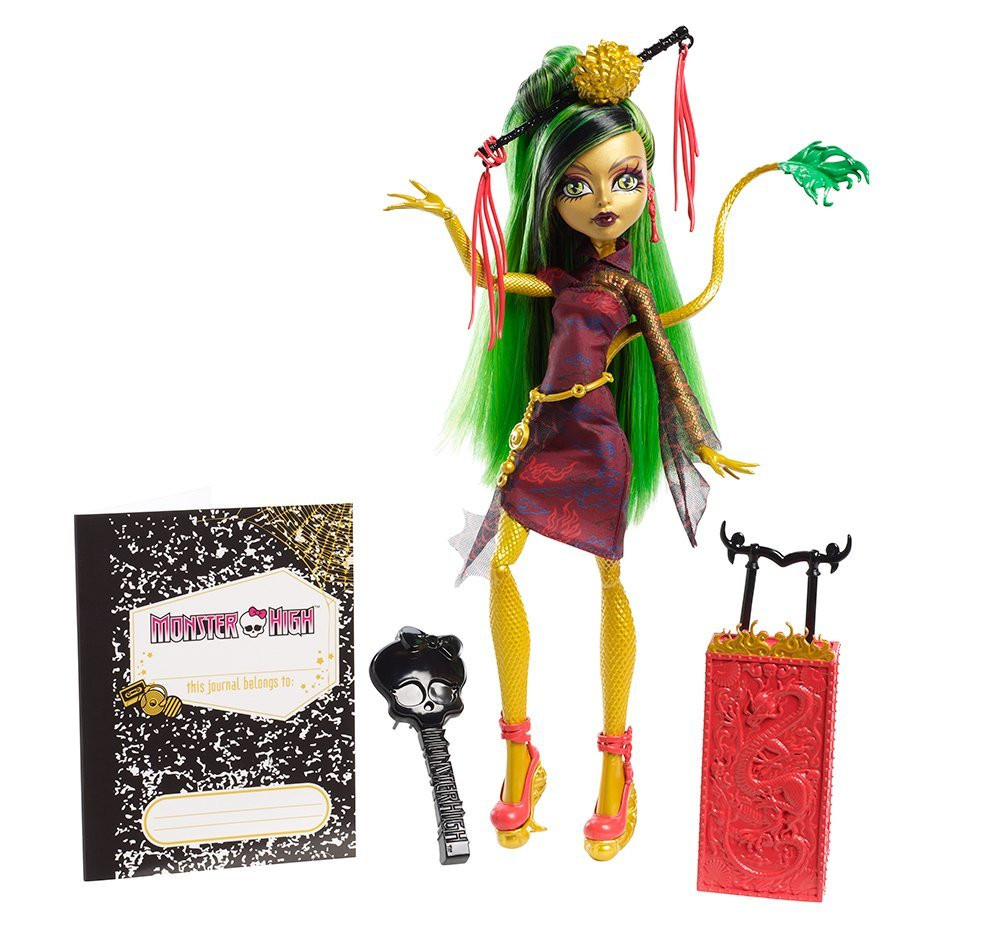 Кукла Дженифаер Лонг Путшествие в Скариж (Париж город страхов) Monster High Travel Scaris Jinafire Long Doll