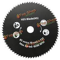 85мм 72 зубцов HSS дисковые пилы поворотные режущие диски колесные для вращающихся инструментов