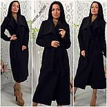 Женское модное удлиненное пальто (5 цветов), фото 2