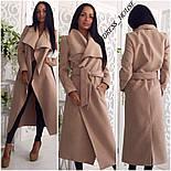 Женское модное удлиненное пальто (5 цветов), фото 3