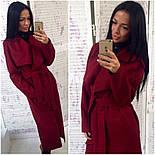 Женское модное удлиненное пальто (5 цветов), фото 5