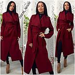 Женское модное удлиненное пальто (5 цветов), фото 6