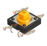 50мА Mini мгновенная тактильная кнопочный переключатель микропереключатель 12 * 12 * 7.3мм