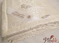 Одеяло шелковое 200х220 Goldentex 2,0 кг., кремовый