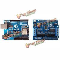 Espduino доска развития совместима с Wi-Fi для управления 2-х канальный мотор + 16 канала платы расширения серво