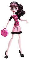 Кукла Дракулаура Путешествие в Скариж (Париж город страхов) Monster High Basic Travel Draculaura Doll, фото 1