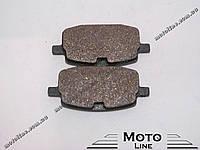 Тормозные колодки дисковые TKD-01 GXmotor