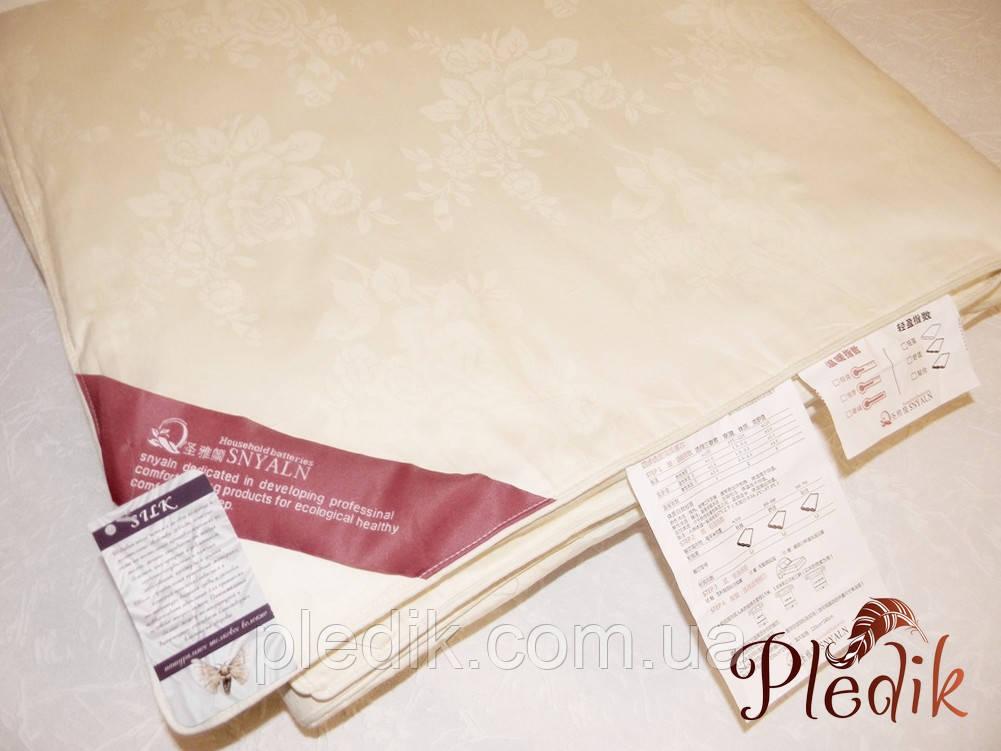 Одеяло шелковое 150х200 Goldentex 1,5 кг. OD-462-2 кремовое