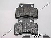 Тормозные колодки дисковые TKD-07 GXmotor
