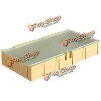 1шт желтый Mini ОУР SMD чип конденсатор резистор компонент коробке