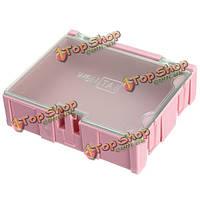 1шт розовый Mini ОУР SMD чип конденсатор резистор компонент коробке