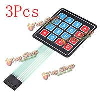 3шт 16keys 4 х 4 СКМ матрицы внешней экспансии клавиатуры проконтролировать доска