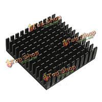 40 x 40 х 11мм алюминиевый теплоотвод радиатор охлаждения для IC обломока