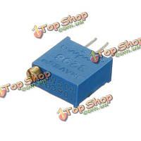 1шт 3296 переменный резистор 100 Ом 3296w подстроечный потенциометр