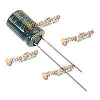 20шт 1000uf 16в 105с Radial электролитический конденсатор компонент алюминий