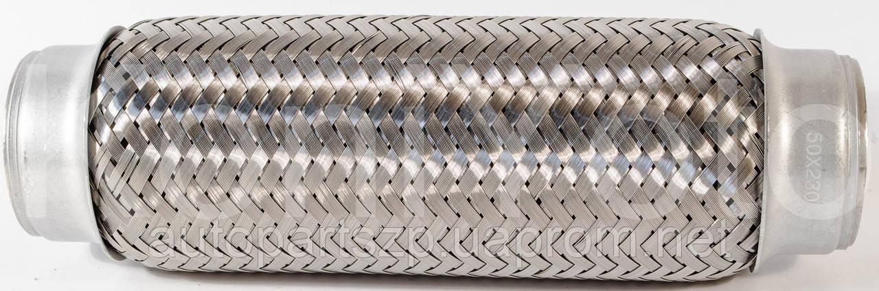 Гофра глушителя 60х250 (2-хслойная) EuroEx
