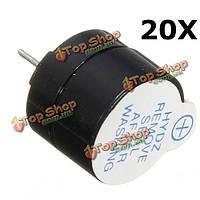 20шт 5В электромагнитное активный зуммер непрерывный звуковой сигнал непрерывно