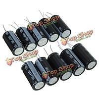 10шт 100uf 450В 105C радиальный электролитический конденсатор 18x37мм