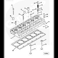 Болты крепления головки ГБЦ для тягача International 7600, 9200, 9800 Cummins ISM11 (ISME)