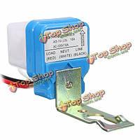 Автоматический автоматический на выключение уличного света переключатель датчика управления фото 10A AC 220V