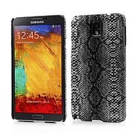 """Чехол накладка пластиковый на на Samsung Galaxy Note 3 N9000, """"Серая змея"""""""