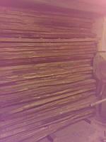 Доска столярная Ольха, необрезанная, толщина 30 мм, 50 мм