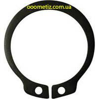 Кольцо стопорное DIN 471, ГОСТ 13942-86 4 наружное эксцентрическое для посадки на вал, фосфатированное