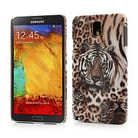 "Чехол накладка пластиковый на на Samsung Galaxy Note 3 N9000, ""Тигр"""