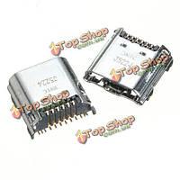 2шт Зарядное Micro-USB порт док ремонта коннектор часть элемента