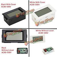 1шт 4 типа d85-20 LCD  AC 80-500В цифрового вольтметра нет питания голубой подсветкой
