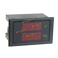 DL85-2080А LED Двойной дисплей Вольтметр переменного тока цифровой измеритель напряжения