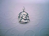 """Серебряная ладанка """"Иисус Христос"""", фото 1"""
