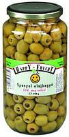 Оливки зеленые маринованные HappY-FruchT 900 г