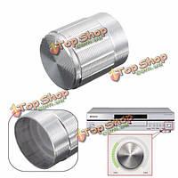 Потенциометр Регулятор громкости 15 * 16мм алюминиевый поворотный переключатель