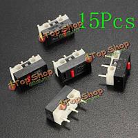 15шт никакая ручка крайний мини-микровыключатель spdt sub миниатюрный микро выключатель