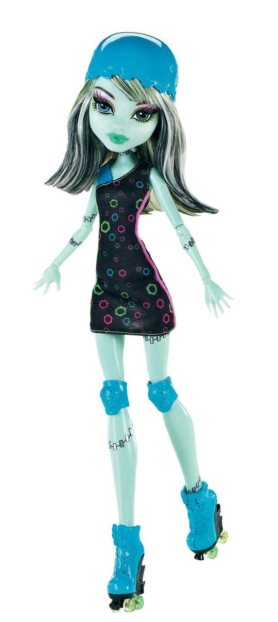 Кукла Фрэнки Штейн Роллеры (Monster High Roller Maze Frankie Stein Doll)