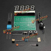 3шт с51 4 бита электронные часы электронные производства сюиты DIY комплекты
