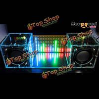 Без жилья поделок музыка спектр LED флэш-Kit + DIY динамик усилитель комплект