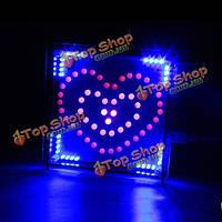 Поделки полноцветный RGB в форме сердца LED электронный комплект мигания комплект